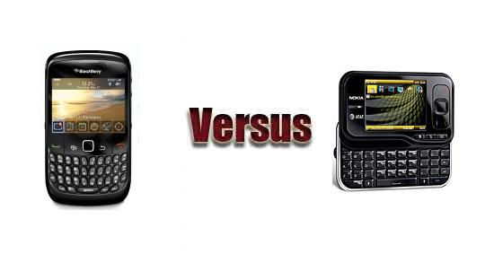 BlackBerry Curve 8520 vs Nokia 6790 Surge