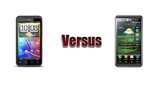 HTC EVO 3D vs LG Optimus 3D P920