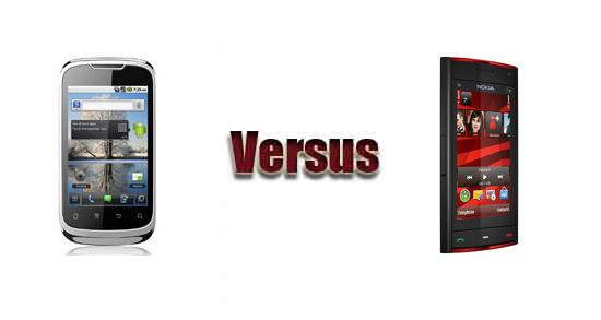Huawei U8650 vs Nokia X6