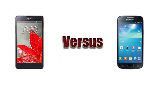 LG Optimus G versus Samsung Galaxy S4 mini
