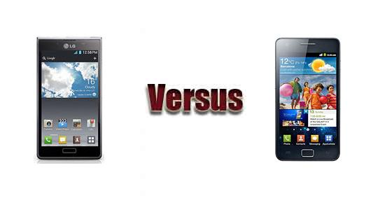 LG Optimus L7 P708 vs Samsung Galaxy S II i9100