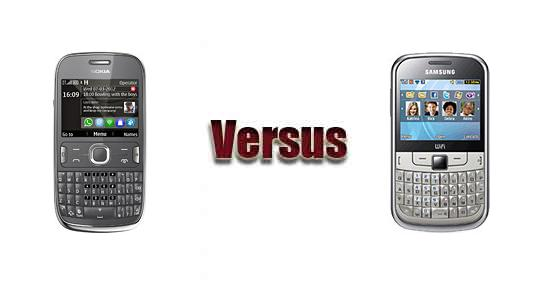 Nokia Asha 302 vs Samsung S3350