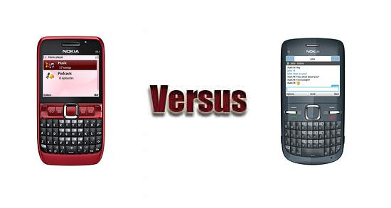 Nokia E63 vs Nokia C3
