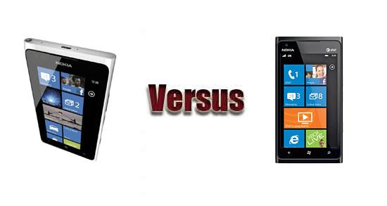 Nokia Lumia 900 vs Nokia Lumia 900 LTE