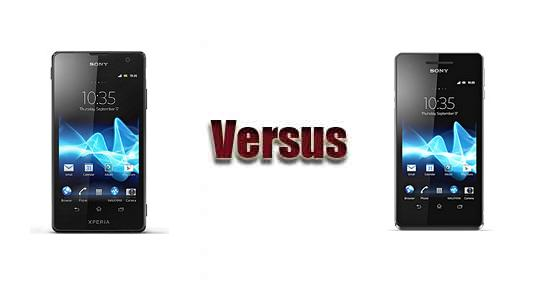 Sony Xperia TX vs Sony Xperia V