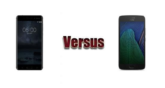 Nokia 6 vs Motorola Moto G5 Plus